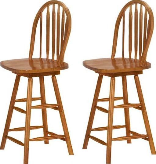 Kitchen bar stools with backs Photo - 5