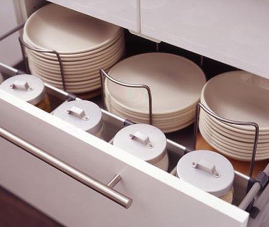 Kitchen cabinet dividers Photo - 10