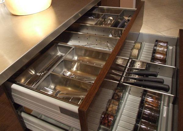 Kitchen cabinet dividers Photo - 11