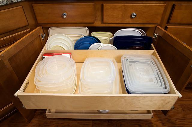 Kitchen cabinet dividers Photo - 7