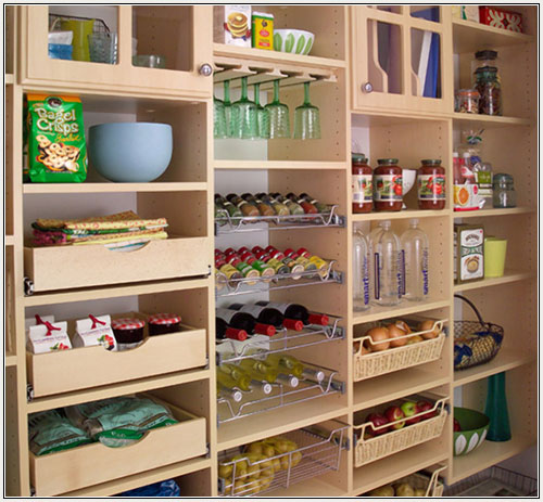 Kitchen cabinet door organizers Photo - 8