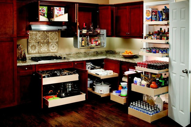 Kitchen cabinet drawer organizers Photo - 11