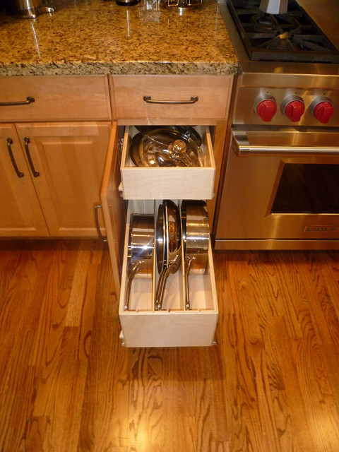 Kitchen cabinet drawer organizers Photo - 12