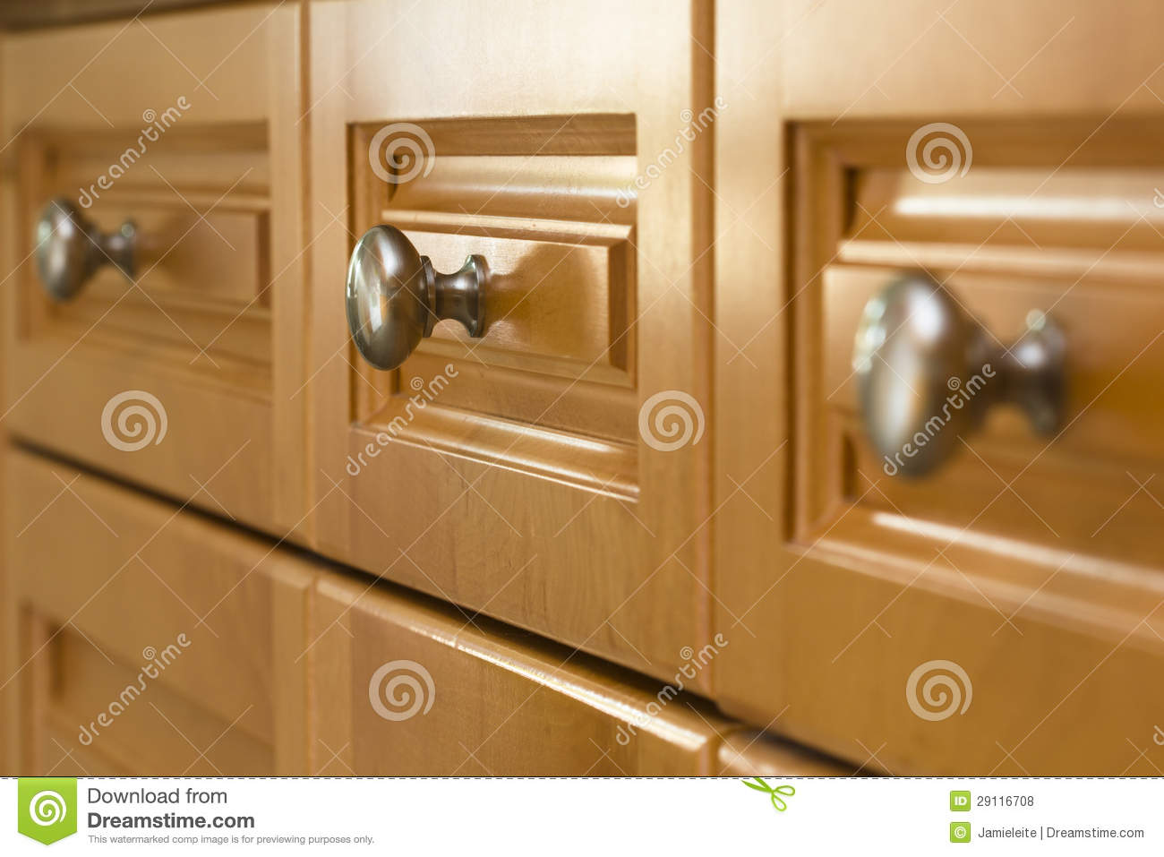 Kitchen cabinet drawers Photo - 8