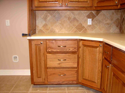 Kitchen cabinet for microwave Photo - 4