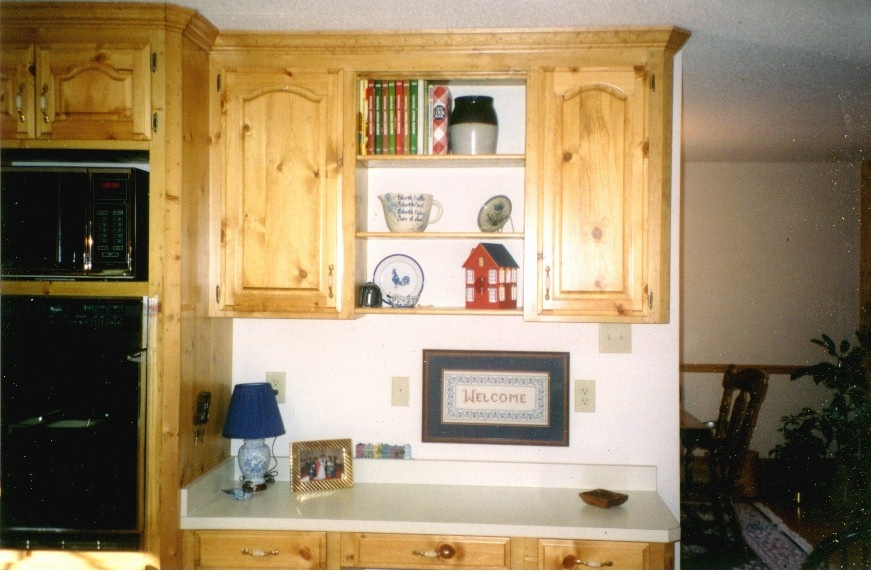 Kitchen cabinet for microwave Photo - 6