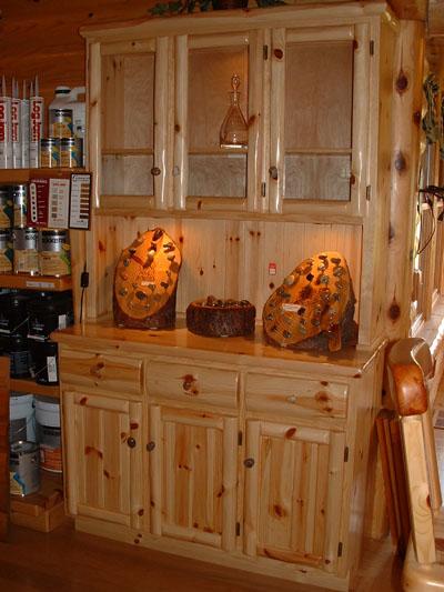 Kitchen cabinet hutch Photo - 2