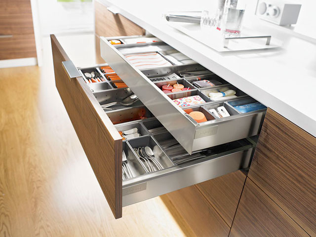 Kitchen cabinet inserts organizers Photo - 7