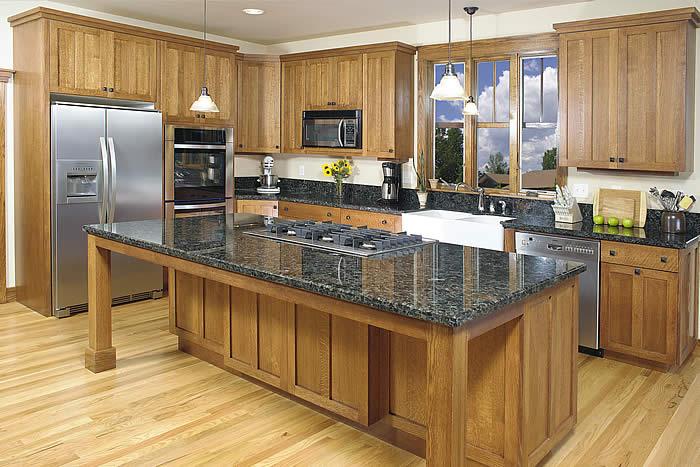 Kitchen cabinet islands Photo - 5