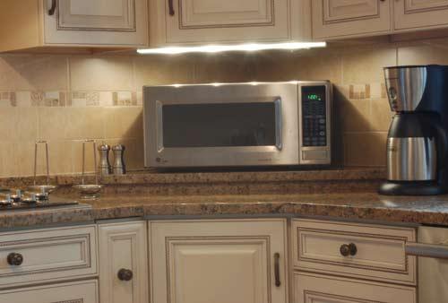 Kitchen cabinet microwave shelf Photo - 12