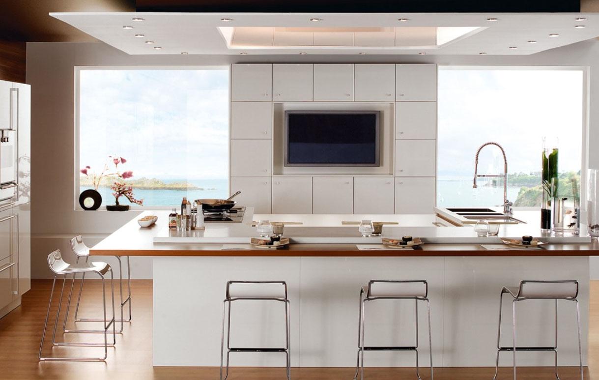 Kitchen cabinet microwave shelf Photo - 2