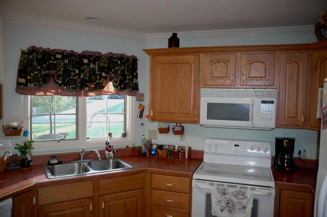 Kitchen cabinet microwave shelf Photo - 7