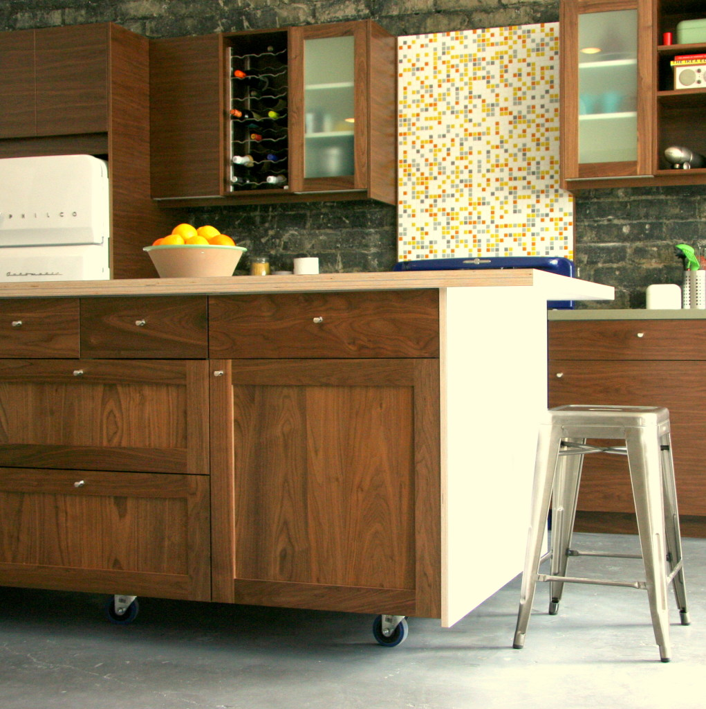 Kitchen cabinet on wheels Photo - 2