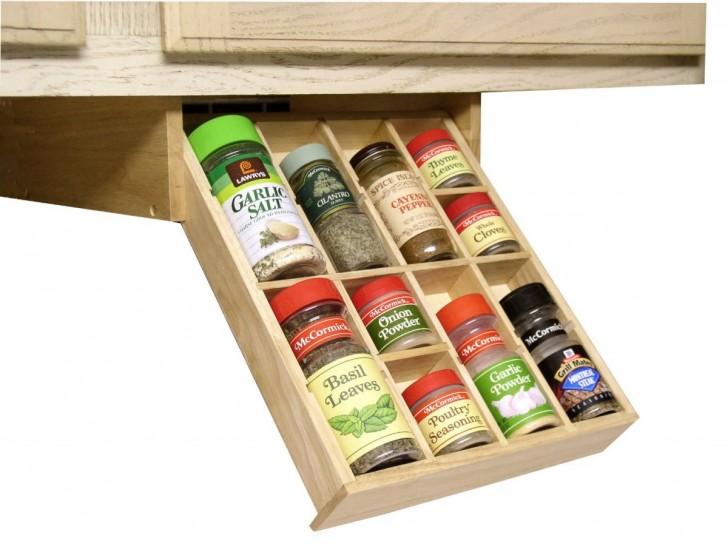 Kitchen cabinet organizer racks Photo - 4