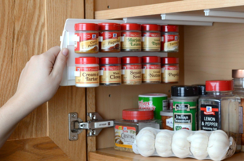 Kitchen cabinet organizer racks Photo - 6