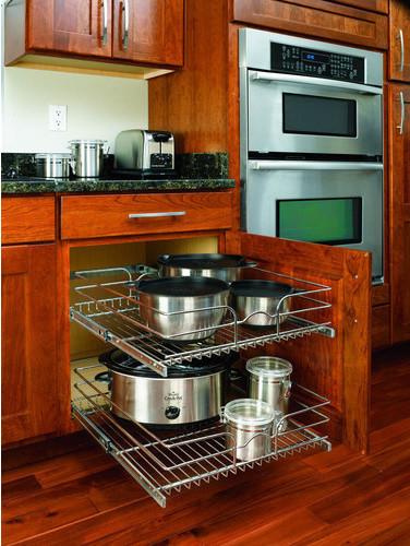Kitchen cabinet organizers lowes Photo - 6