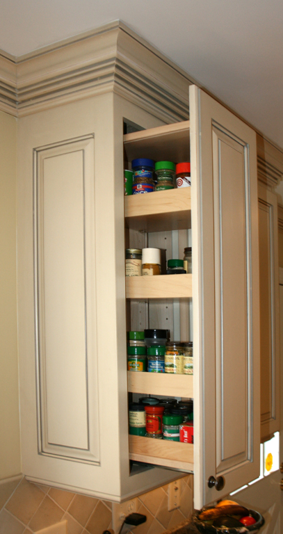 Kitchen cabinet organizers pull out shelves Photo - 1