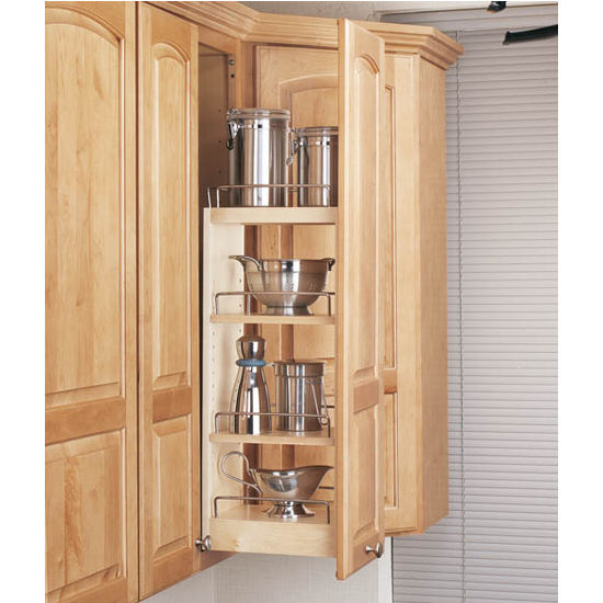 Kitchen cabinet organizers pull out shelves Photo - 3