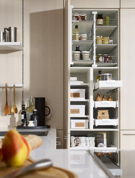 Kitchen cabinet organizers pull out shelves Photo - 5