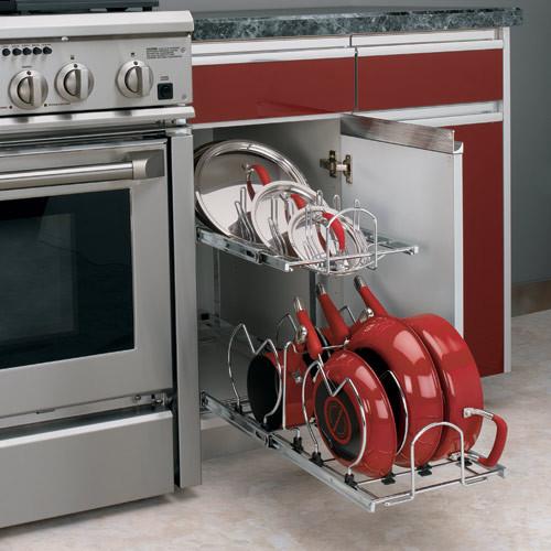Kitchen cabinet pot organizer Photo - 5