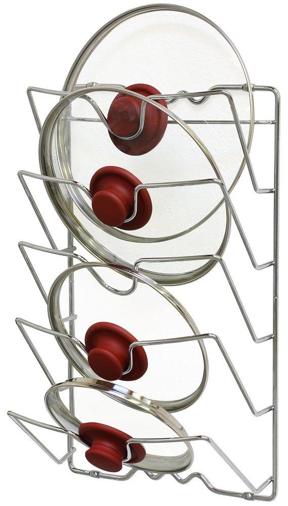 Kitchen cabinet pot organizer Photo - 7
