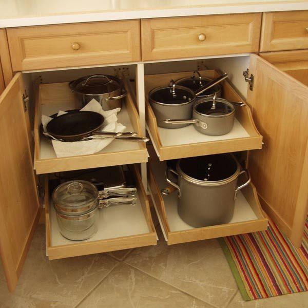 Kitchen cabinet shelf organizers Photo - 9