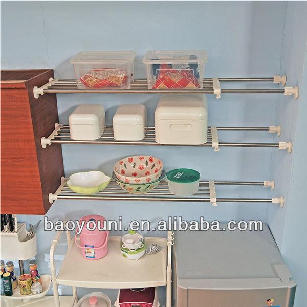 Kitchen cabinet shelf organizers Photo - 7