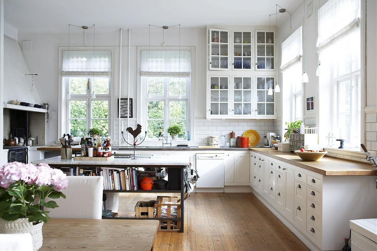 Kitchen cabinet shelves Photo - 10