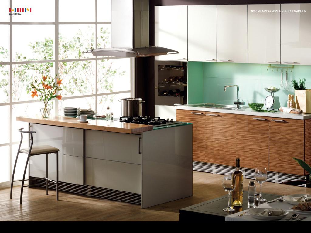 Kitchen cabinet shelves Photo - 6