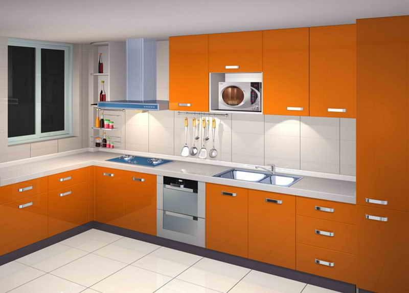 Kitchen cabinet shelving Photo - 8