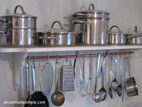 Kitchen cabinet space savers Photo - 10