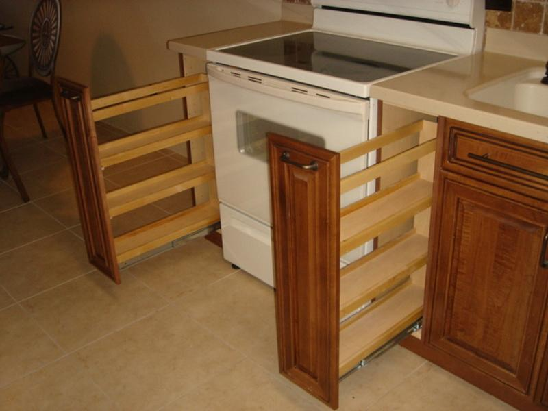 Kitchen Cabinet Spice Rack Kitchen Ideas