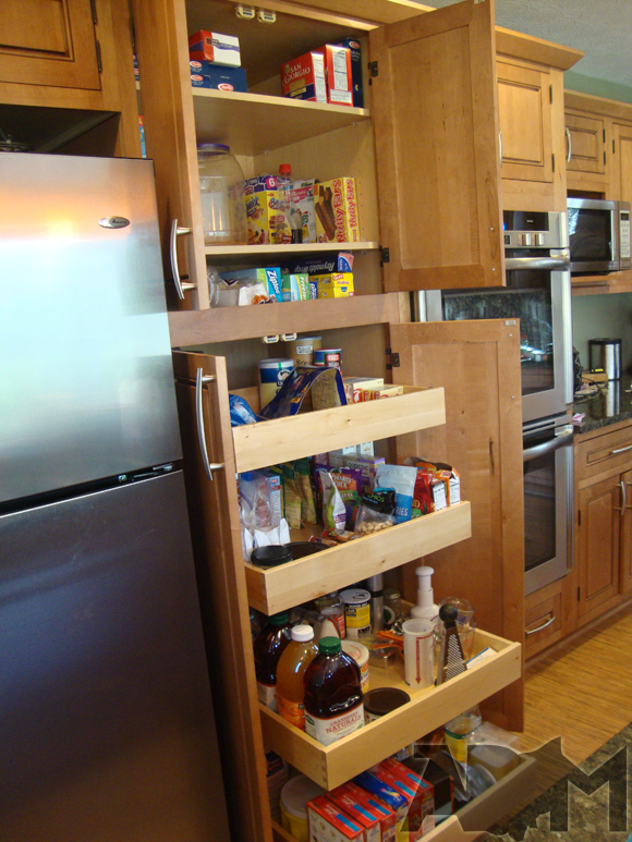 Kitchen cabinet storage solutions Photo - 1