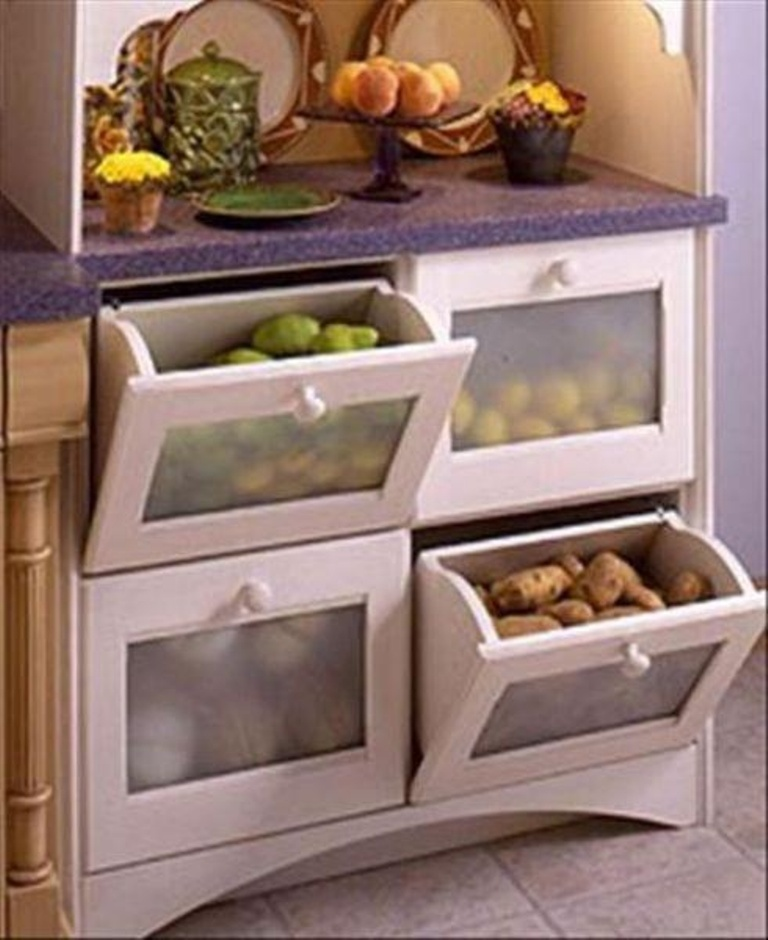 Kitchen cabinet storage solutions Photo - 7