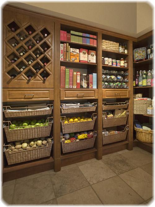 Kitchen cabinet storage systems Photo - 1