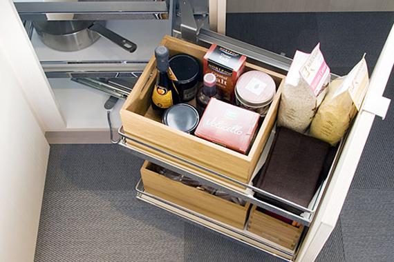 Kitchen cabinet storage systems Photo - 2