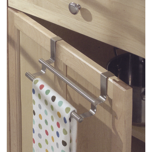 10 Photos To Kitchen Cabinet Towel Bar