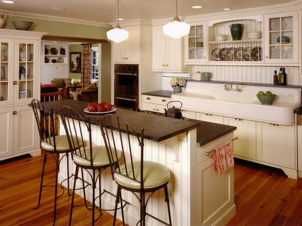 Kitchen cabinet towel rack Photo - 9