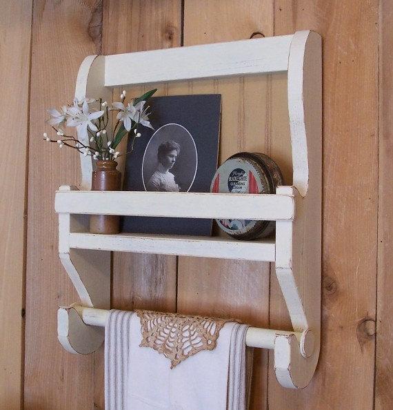 Kitchen cabinet towel rack Photo - 3