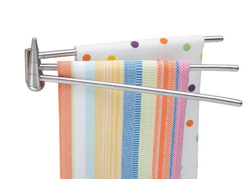 Kitchen cabinet towel rack Photo - 5