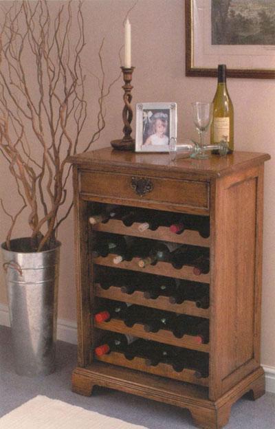 Kitchen cabinet wine rack Photo - 1