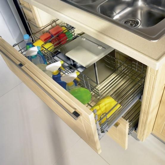 Kitchen cabinet wine rack Photo - 10