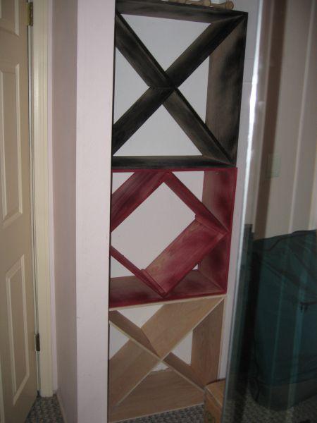 Kitchen cabinet wine rack Photo - 12