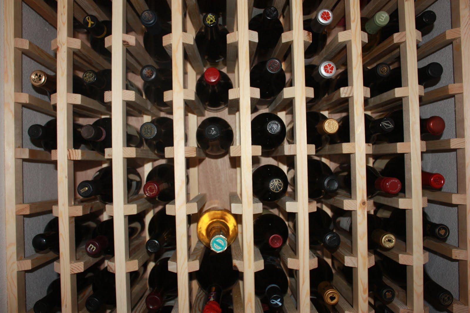 Kitchen cabinet wine rack Photo - 7