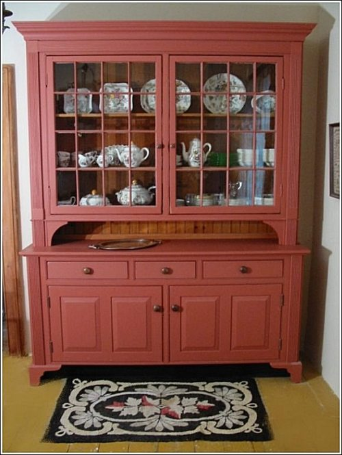 Kitchen cabinet with hutch Photo - 12