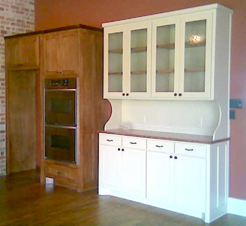 Kitchen cabinet with hutch Photo - 4