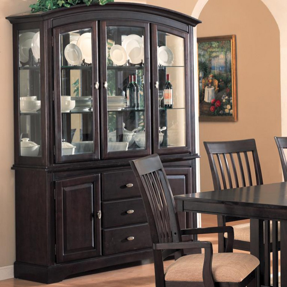 Kitchen cabinet with hutch Photo - 5