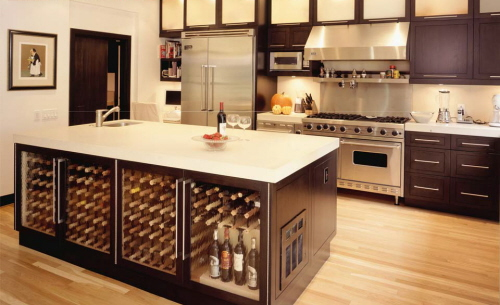 Kitchen cabinet with hutch Photo - 7