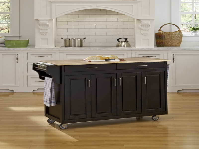 Kitchen Island On Wheels With Stools Uk