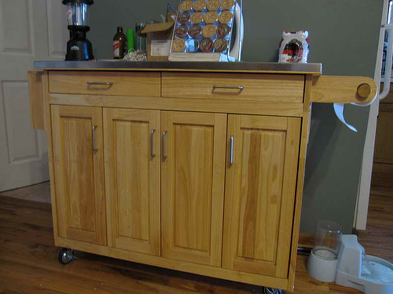 Kitchen cabinets on wheels photo 8 kitchen ideas for Kitchen units on wheels